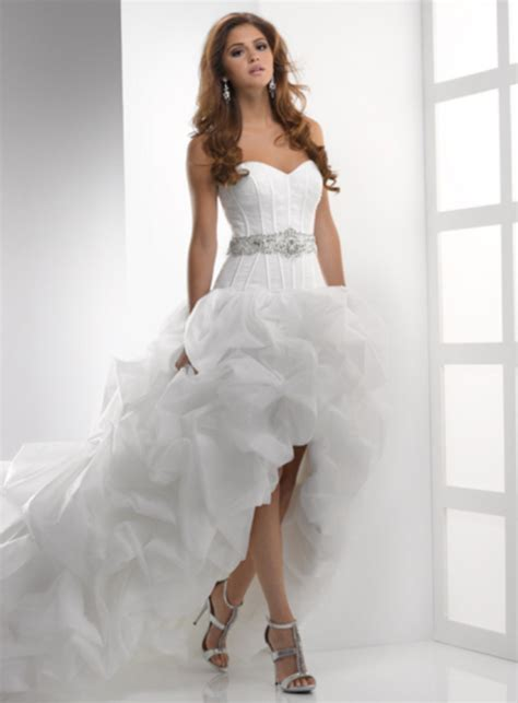 design dress with beads designer sweetheart beaded belt puffy organza short front