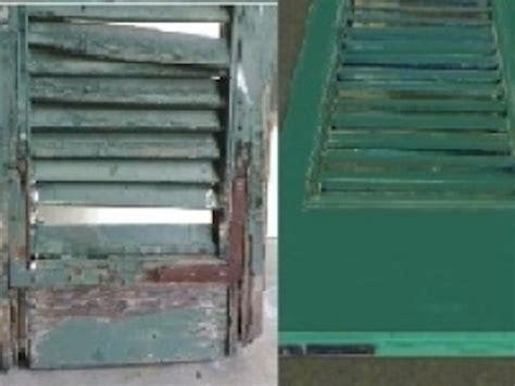 riparazione persiane in legno servizio di restauro e riparazione semeraro