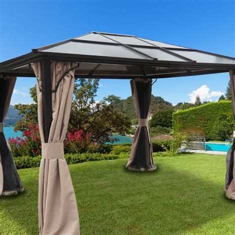 luxury gazebo sterling luxury gazebo buy at qd stores