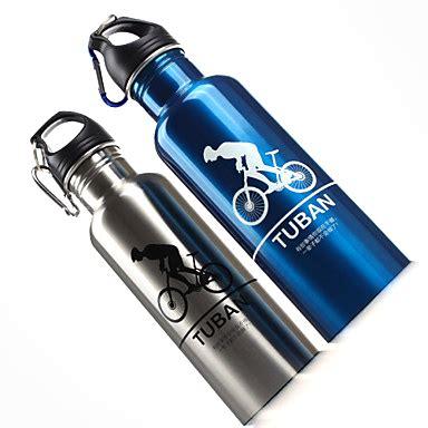 Botol Minum Olahraga Aluminium 750ml Dengan Karabiner T3010 3 botol minum olahraga aluminium 400ml dengan karabiner silver jakartanotebook