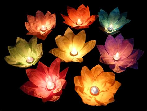 How To Make Flower Paper Lanterns - how to make a lotus flower lantern azreview