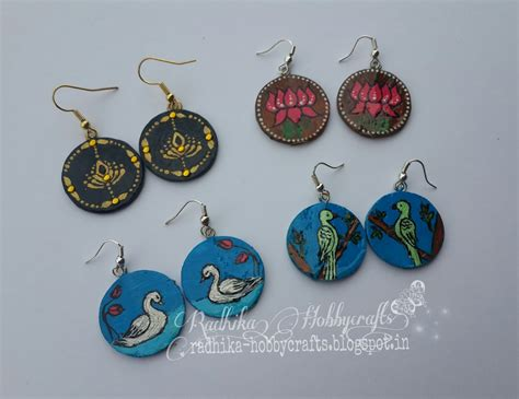 Earring With Paper - hobby crafts paper earrings