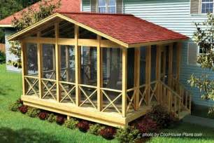 Screen Porch Designs For Houses by Screened In Porch Plans To Build Or Modify