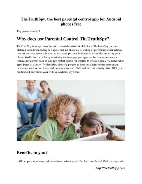 best parental for android the truthspy the best parental app for android