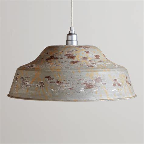 World Market Pendant Light Furniture Gt Bedroom Furniture Gt Metal Gt Distressed Metal