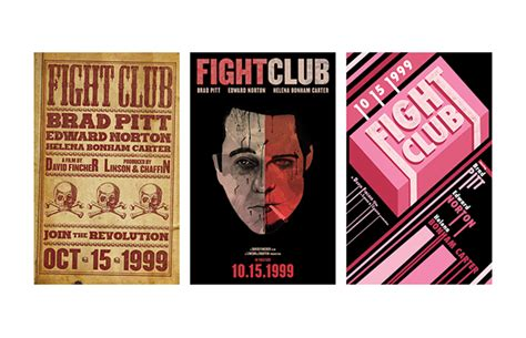 fight club series 1 fight club series poster on behance