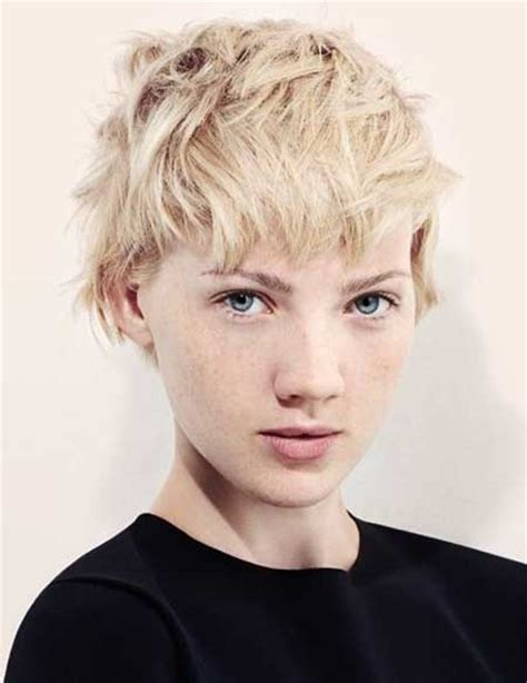 short hair styles for ordinary women messy short hairstyles for women short hairstyles 2017