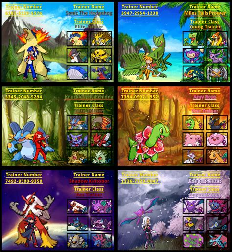 Where Can I Buy A Sonic Gift Card - sonic trainer cards by rudolphtheehcidna on deviantart
