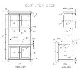 Computer Desk Design Build A Computer Desk Plans Woodworking Projects