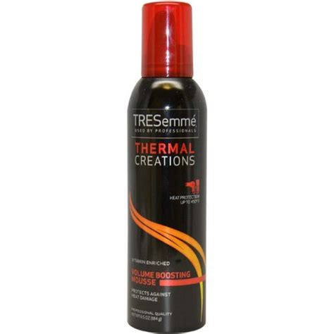 tresemme thermal creations volumizing mousse reviews