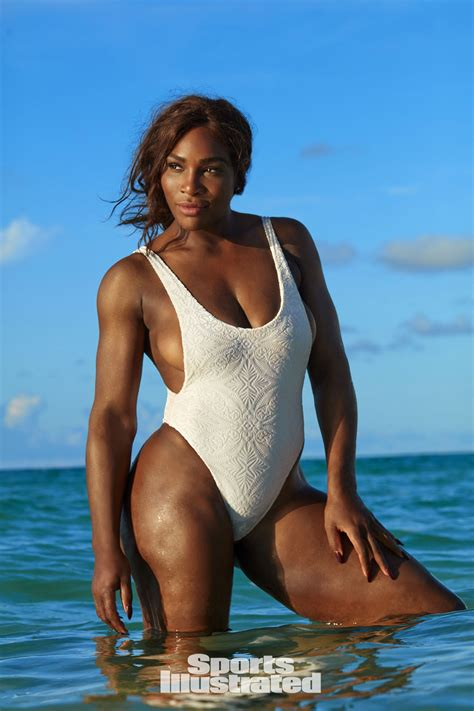 serena williams serena williams poses in thong for sports illustrated