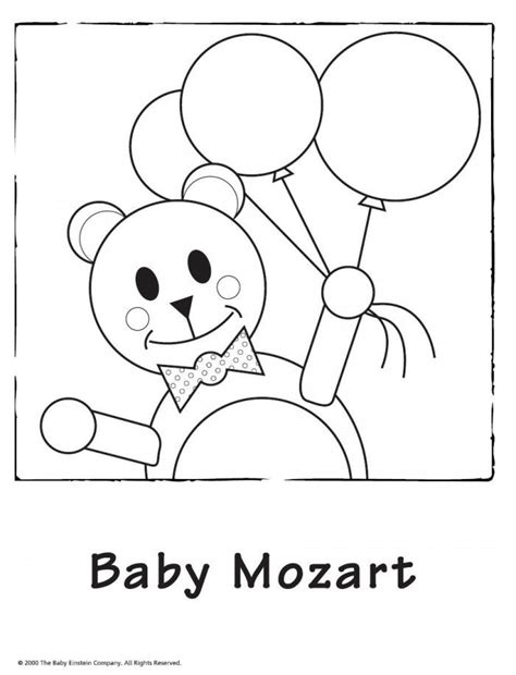 baby einstein coloring pages coloring home