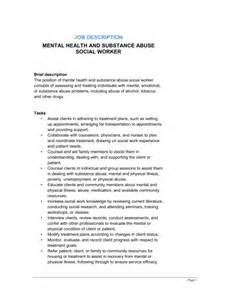 Social Workers Duties And Responsibilities by Social Worker Description Template Sle Form Biztree