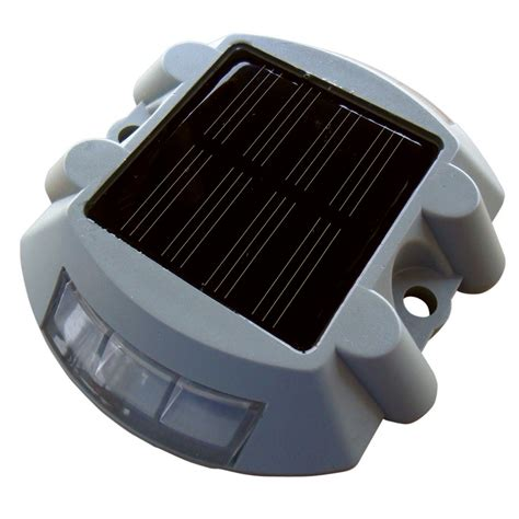 shop dock edge solar dock and deck light at lowes