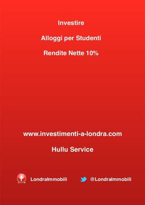 investire in appartamenti investire in alloggi studenti universita inglesi