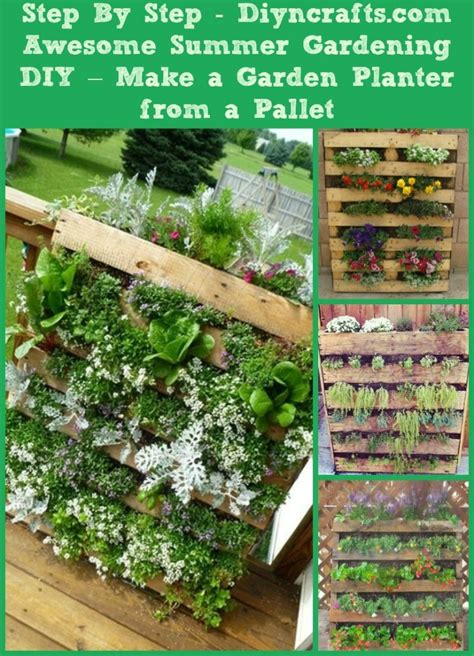 awesome summer gardening diy   garden planter