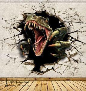 dinosaurier schlafzimmer accessoires 3d dinosaur 555 thr wall paper wall print decal wall