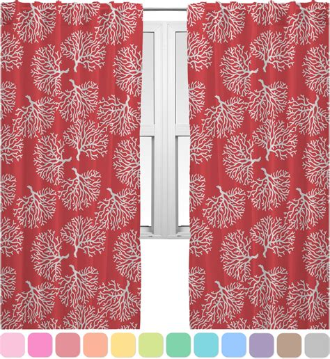 coral and teal curtains coral teal curtains 40 quot x63 quot panels unlined 2 panels