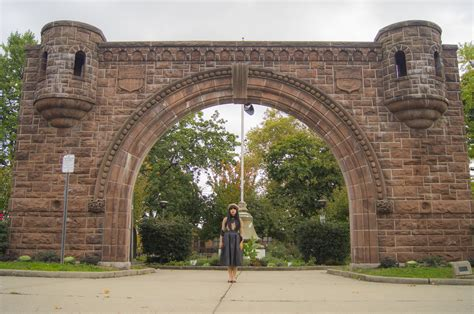 Its All In The Arch by Pershing Field Arch Chicpeajc