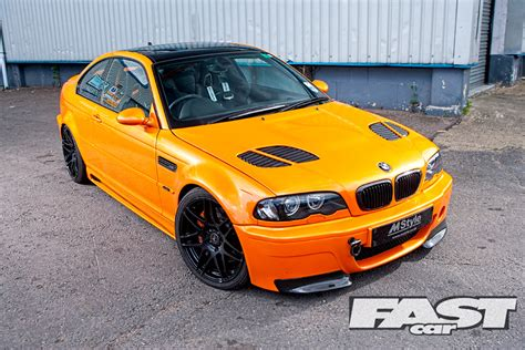modified bmw m3 tuned mstyle bmw e46 m3 fast car