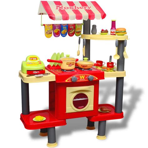 cuisine plastique jouet acheter cuisine jouet grande pour enfants pas cher vidaxl fr