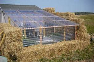 How To Build A Kitchen Cabinet by Build A Straw Bale Greenhouse Diy Projects For Everyone