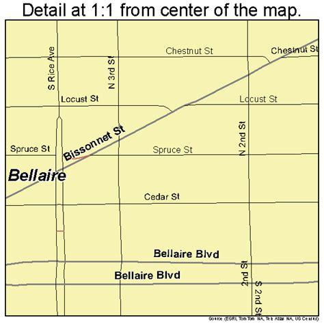 bellaire texas map bellaire texas map 4807300