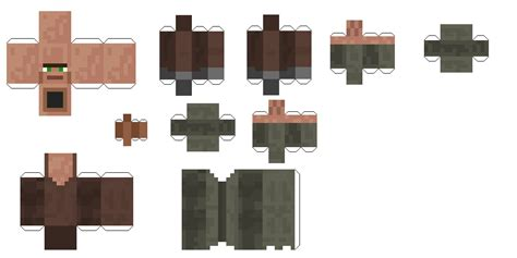Minecraft Papercraft Mod - paper crafts minecraft animals mod