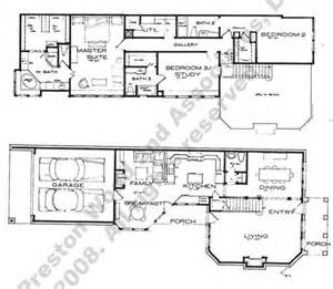 narrow lot 2 story house plans house plans narrow studio design gallery