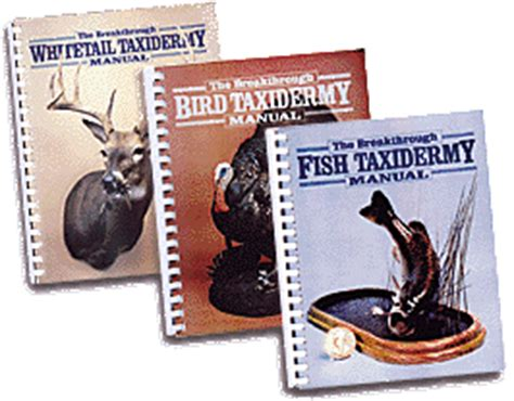 the taxidermist books taxidermy net taxidermy publications