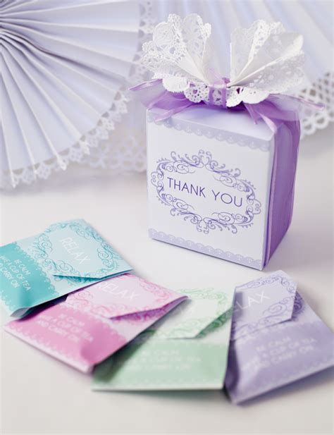 Tea Party Giveaways - diy baby shower tea party favor free printable