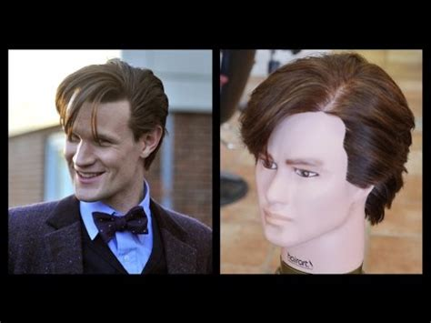 eleventh doctor hairstyle dr who men s haircut tutorial thesalonguy youtube