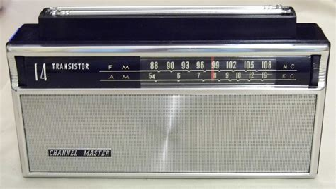 resistor radio band file channel master 14 transistor two band am fm radio model 6518a made in japan black