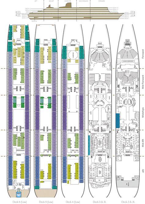 Queen Mary Floor Plan | cunard