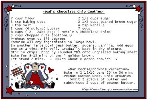 Recipe Card Clipart