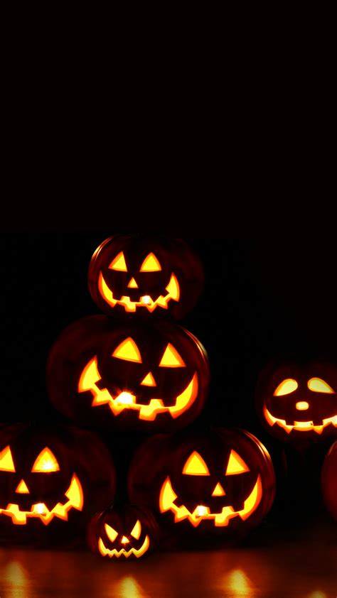 Wallpaper Android Halloween | scary pumpkins halloween android wallpaper free download