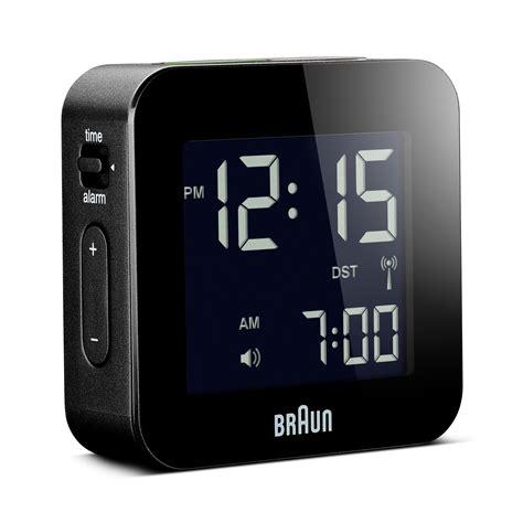 braun bnc008 rc digital global radio controlled travel alarm clock bnc008 rc