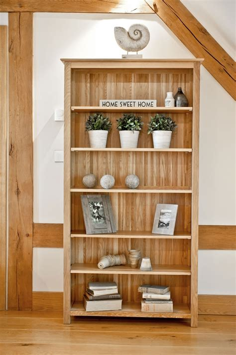new forest solid oak large bookcase oak furniture solutions