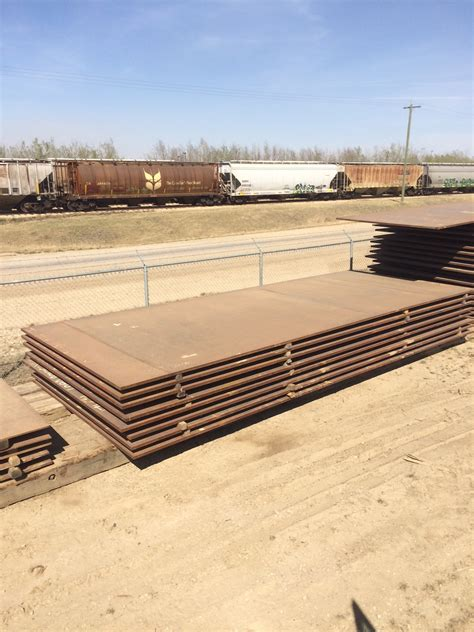 plate steel for sale steel road plate myshak sales rentals ltd