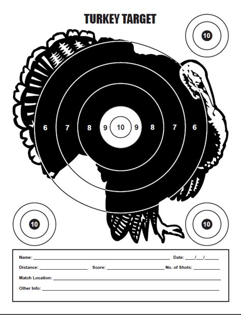 printable wild turkey targets turkey targets related keywords turkey targets long tail