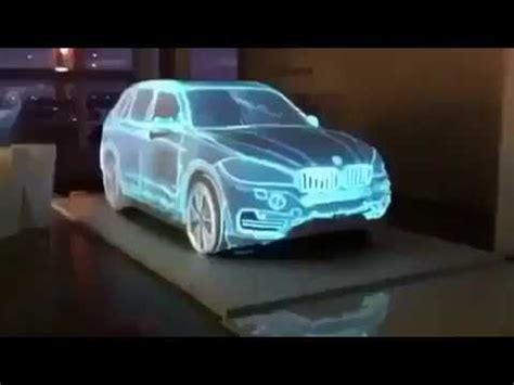 holographic car amazing hologram car youtube