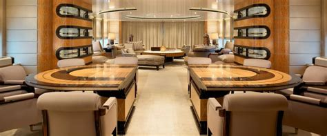 Linley Interiors by Linley Sliding Table Yacht Bannenberg Rowell Interior