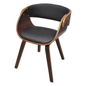 chaises 224 accoudoirs salle 224 manger bois robuste brun
