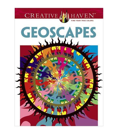 Dover Coloring Book Geoscapes