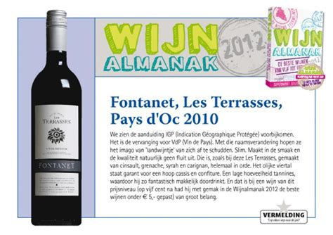 Terrasses D Aussieres 2010 by Fontanet Pays D Oc Les Terrasses Rood Wijnhandel Beauvin