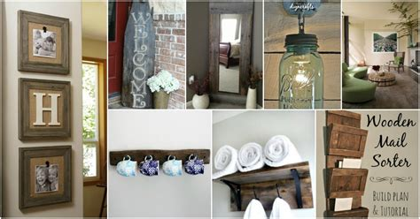 home diy decor ideas 40 rustic home decor ideas you can build yourself diy