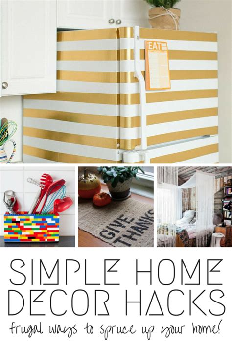 9 simple home decor hacks spark