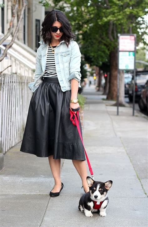 what to wear with a black midi skirt gommap