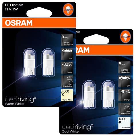 led interno auto osram ledriving w5w 501 led interno auto ladine
