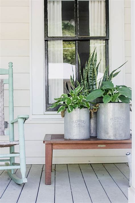 curb appeal with plants a front porch makeover snake plant the o jays and a snake